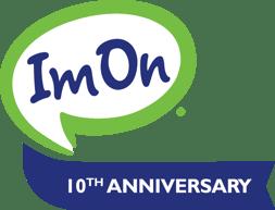 ImOn Communications 10th Anniversary Logo