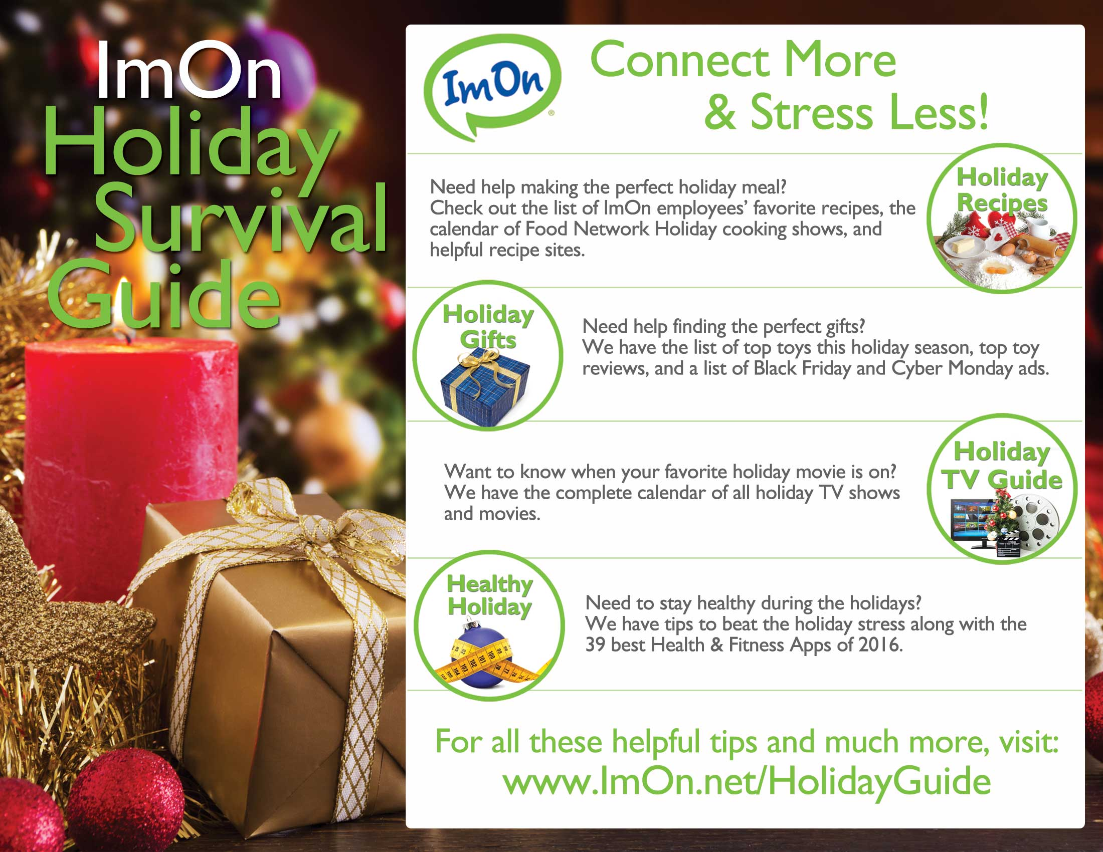 ImOn Holiday Survival Guide Image