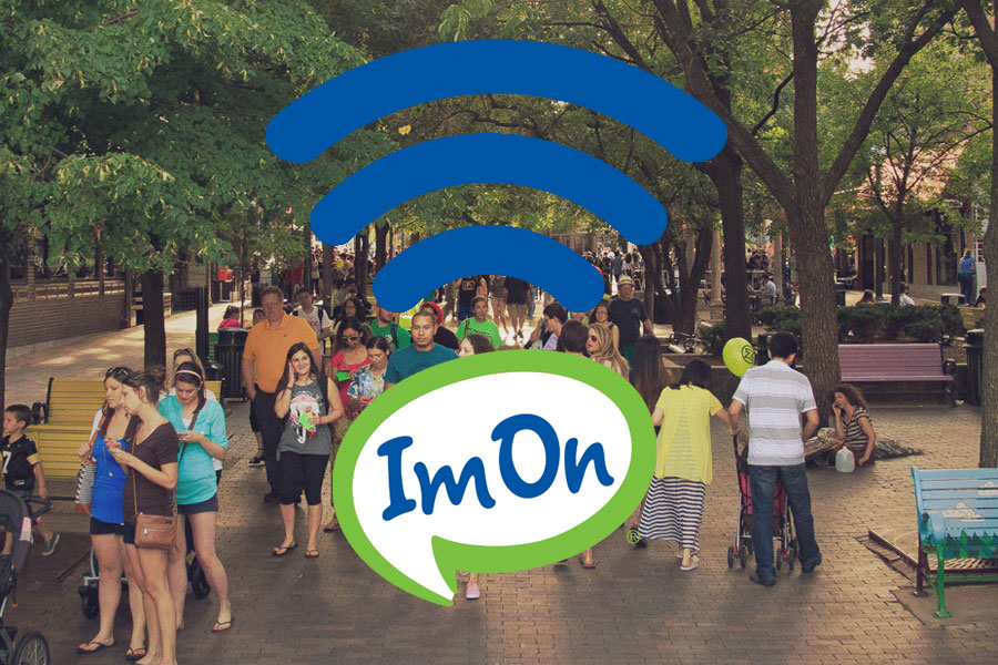 ImOn Communications now offering free public wi-fi in the Iowa City Ped Mall Image