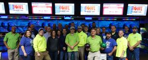 ImOn Communications employees participating in Bowl for Kids' Sake 2017