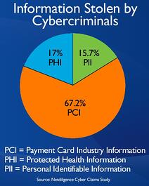 Type of Data Stolen by Cyber Criminals